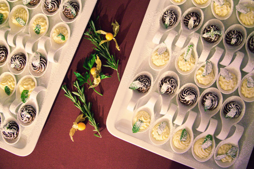 Catering Dessertvariationen