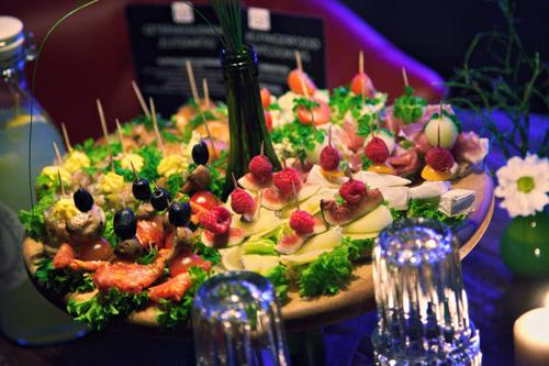 Partyservice Tischfood aus der Nähe